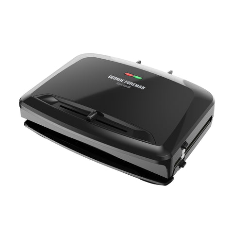 George Foreman Rapid Rpgv3801Bk Electric Grill/Panini Press