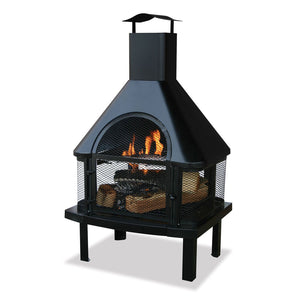 Uniflame Outdoor Wood Burning Fireplaces