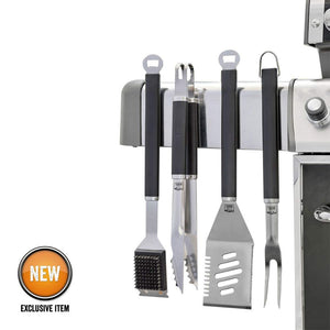 4 Pc. Magnetic Grilling Tool Set
