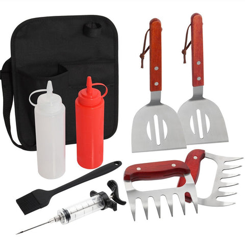 9-Piece Grill Tool Set