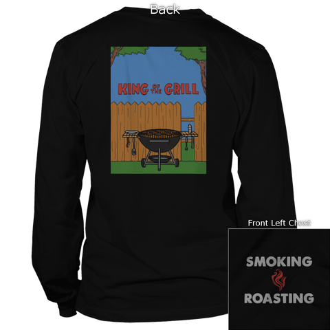 King Of The Hill Back Design Apparel