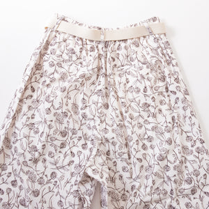 ORIGINAL FLOWER WIDE PANTS