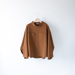 MOCK NECK PULLOVER SHIRT