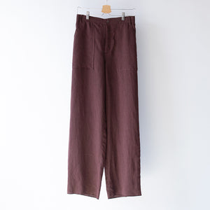WIDE BAKER PANTS