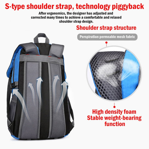 40L Outdoor Sports Backpack for Everyday Use or Camping / Hiking / Trekking / Travel