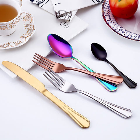 Stunning Steel Stainless 4 Pc Cutlery/Tableware Set