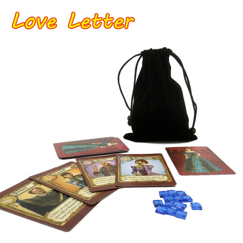 English Love Letter Board Game - 2 to 4 Players - Game Playing Cards