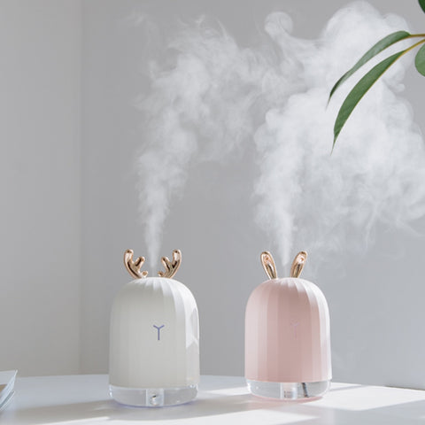 High-Quality 220ML Ultrasonic Air Humidifier - Aroma Essential Oil Diffuser for Home with LED light