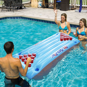 PVC Inflatable Beer Pong Table for the Pool or Lake