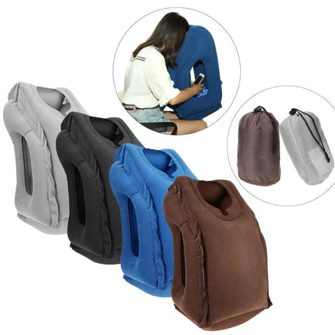 Fantastic Travel Air Pillow That Inflates When Required For Your Next Trip