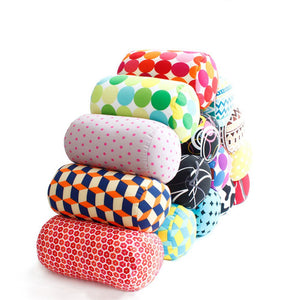 Soft MicroBead Roll Pillow / Cushion