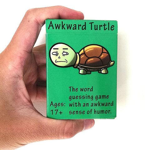 'Awkward  Turtle' Game - Funny Playing Cards