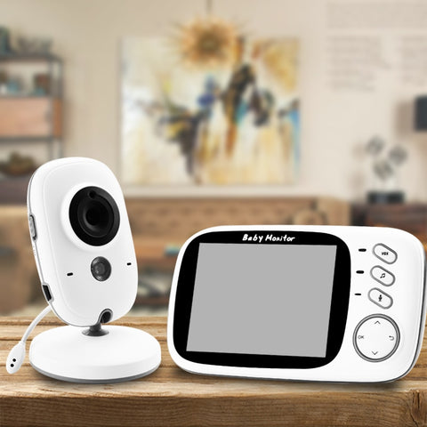 Wireless Video Baby Monitor with 3.2 Inch LCD Screen