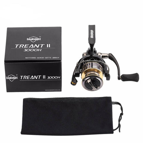 Image of TREANT II 5.0:1 6.2:1 Fishing Spinning Reel 1000H-6000H -  Freshwater Reel.