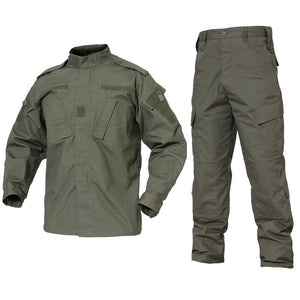 Camouflage Tactical Military Style Uniform for Hunting - Jacket and Pants