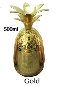 Image of Fabulous Pineapple Tumbler / Mug  - Cocktail Drinking Glasses / Mugs for any Bar or Dinner Party.
