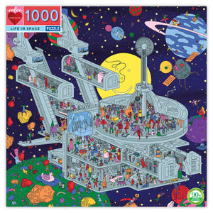 Life in Space 1000 Piece Puzzle (Discontinued)