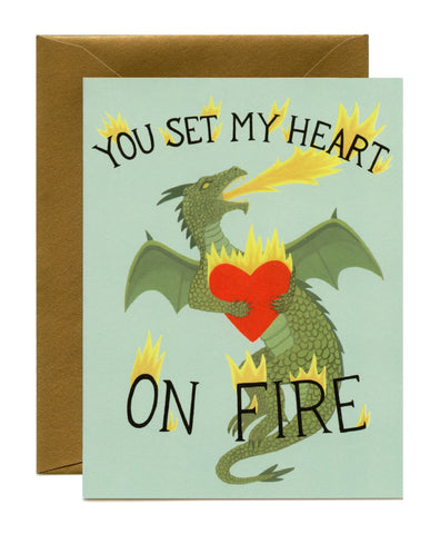 Dragon Heart / You Set My Heart On Fire