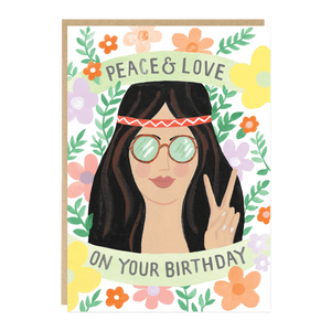 Peace & Love on Your Birthday
