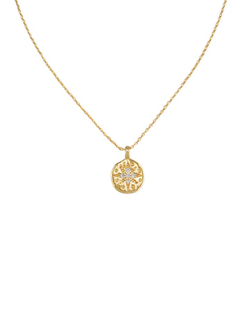 Gold Morning Star Necklace