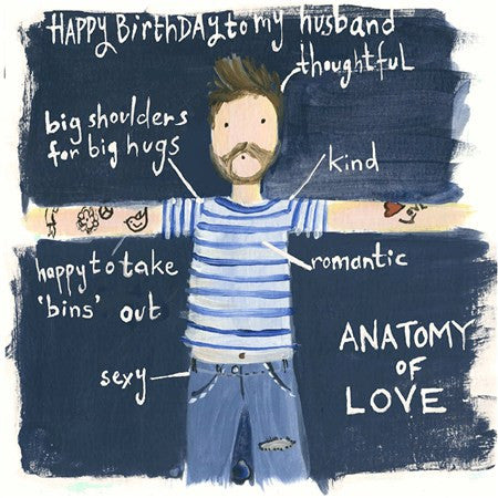 Thoughtful Husband Birthday Card
