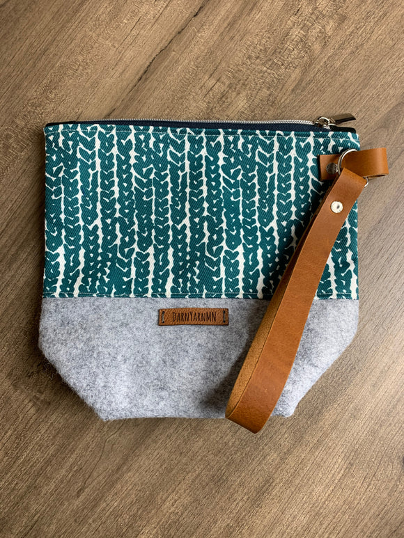 Regular Wool Wedge Bags