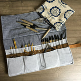 Corduroy Interchangeable Needle Book