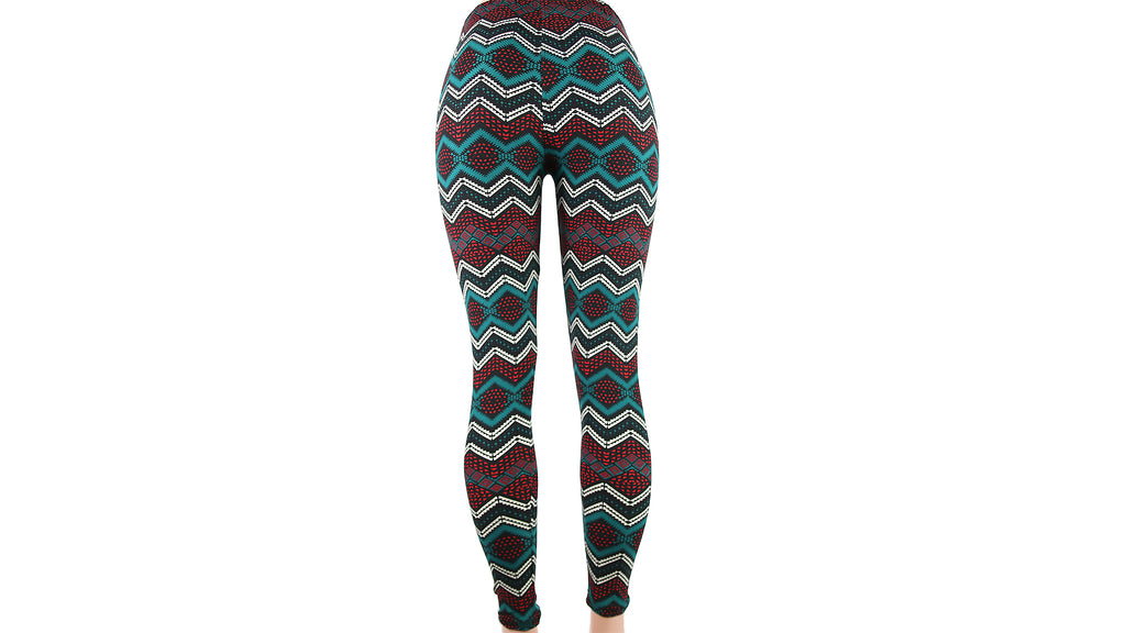 Chevron Bands Leggings