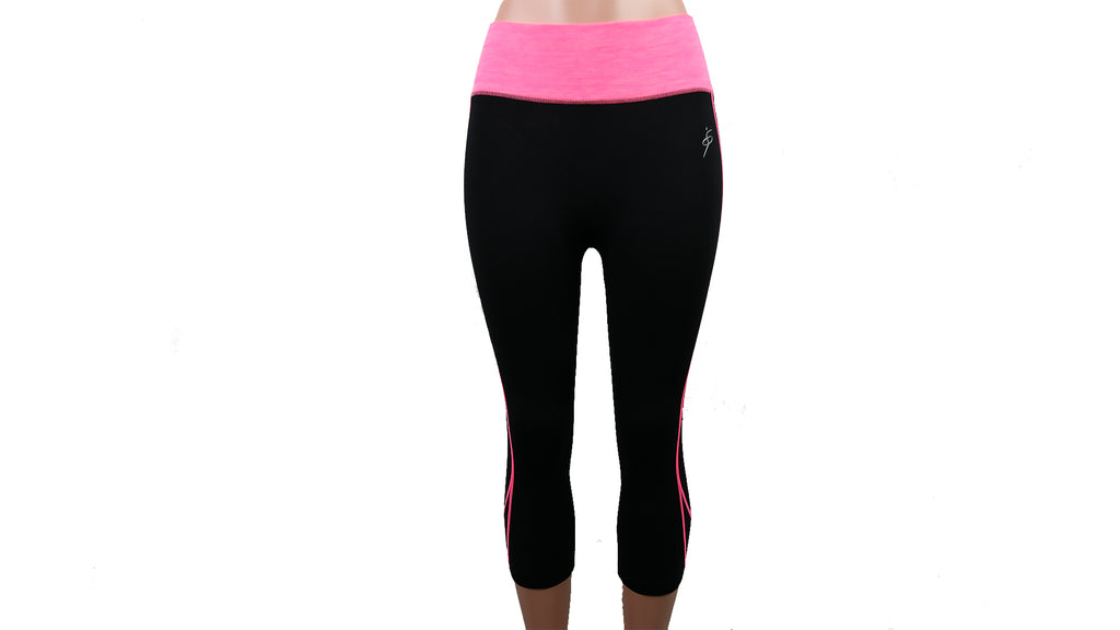 Moisture Wicking Workout Capris