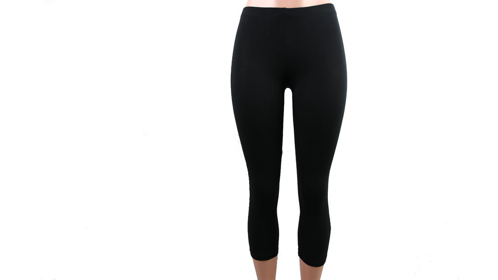 Cotton Capris Length Leggings