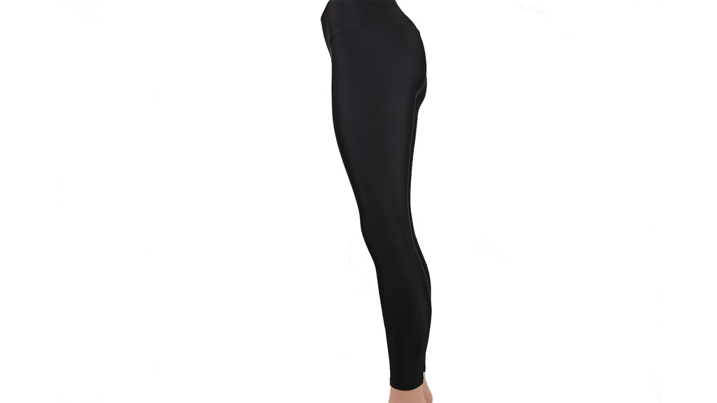 Black High Rise Tight Leggings