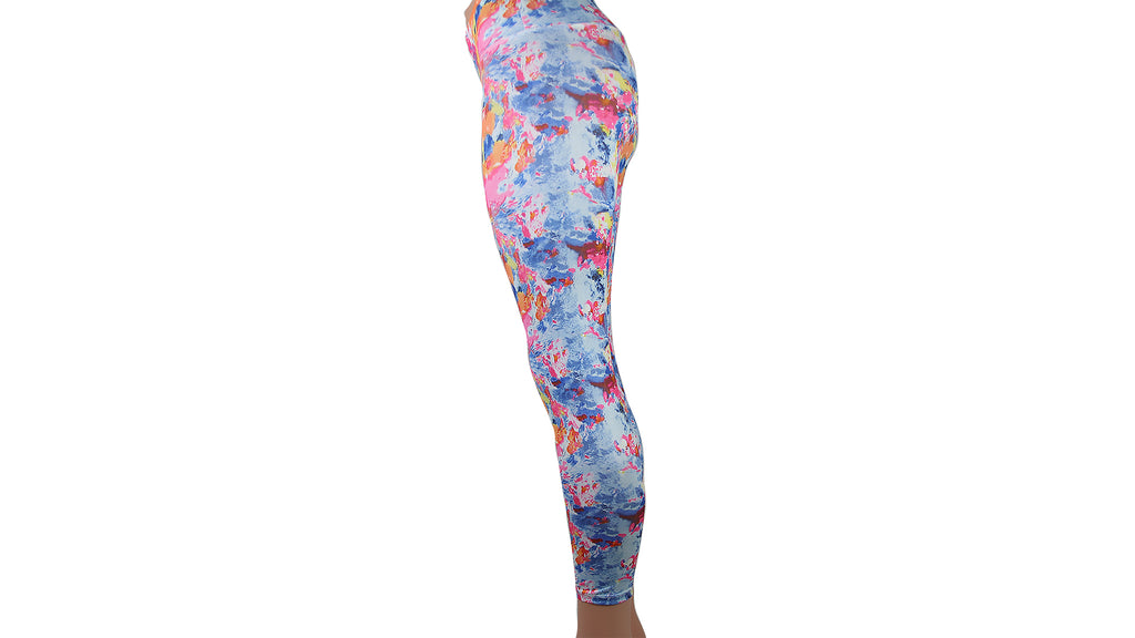 Tie Dye Colorful Skintight Yoga Pants