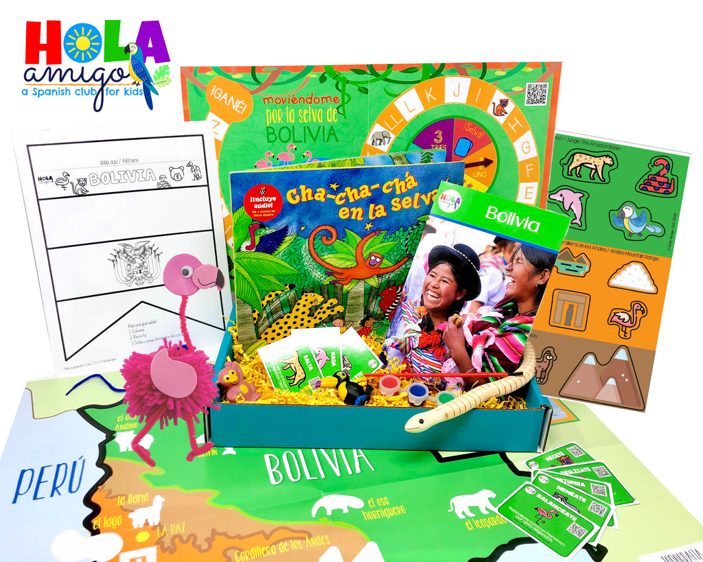 Sale! Bolivia Explora Elementary Box
