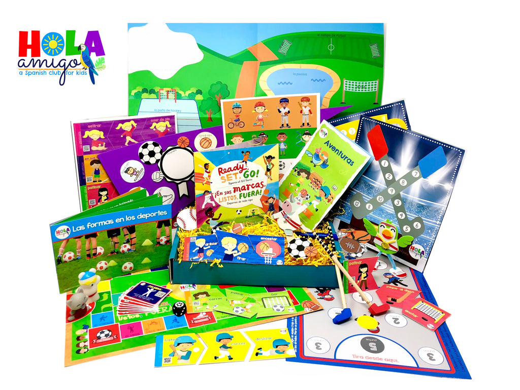 Los Deportes/Sports: Early Learner Box