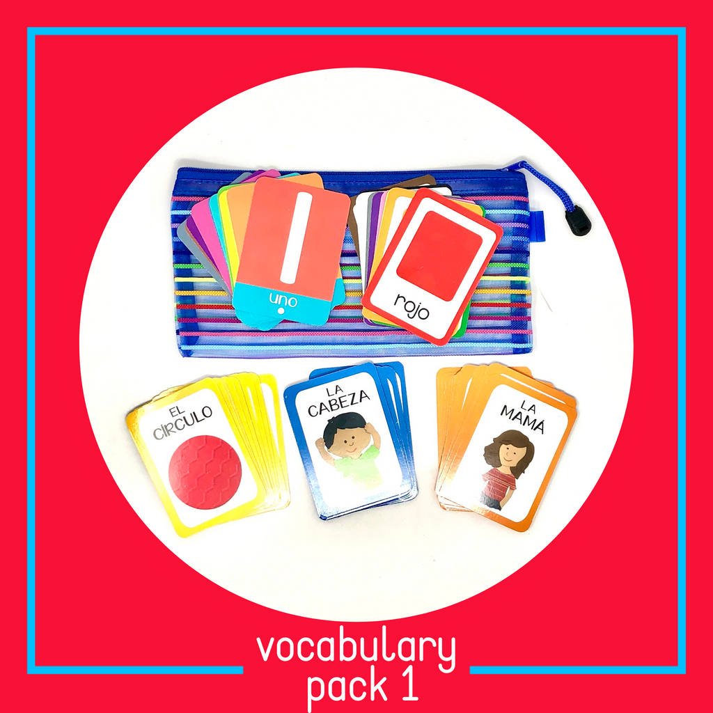 Vocabulary Card Pack #1