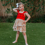 Polynesian Princess Costume Party Dress