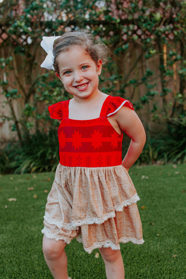 Moana party dress