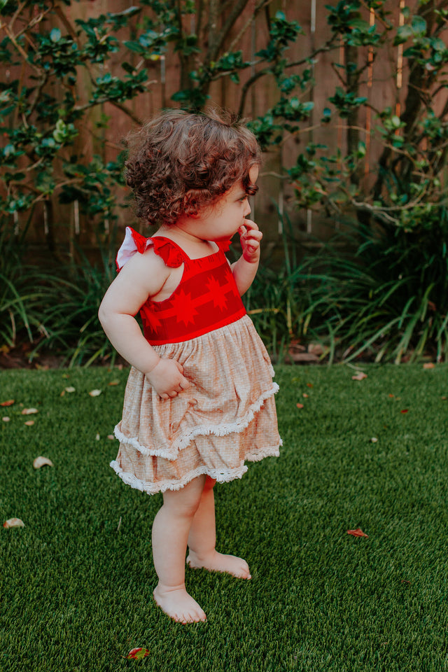 Moana birthday party dress