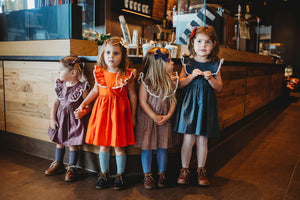 little girls linen dresses