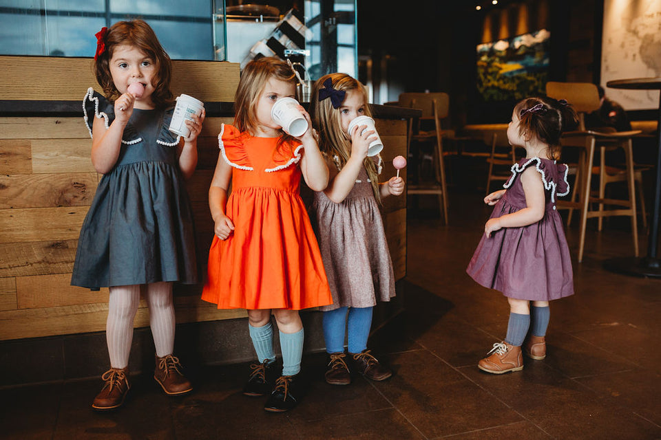 little girls Fall dresses