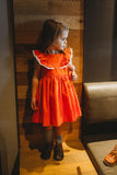 little girls orange dresses