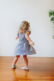 little girls gray dresses