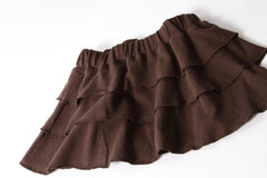 Layer Cake Skirt - Chocolate