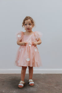pink tulle swan dress