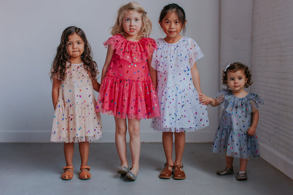 little girls tulle dresses