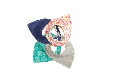 Bitty Babe Bandana 4-Pack, Gift Set of 4