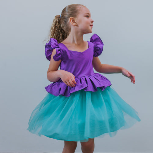 ariel little mermaid party dress