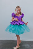 little mermaid party dress
