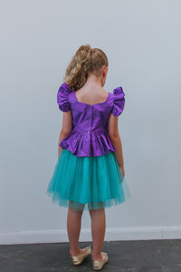 kids little mermaid dress