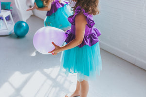 little mermaid inspired party dress
